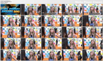 Jennette McCurdy Kids Choice Awards 2012 Interview