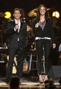 Sara Evans - ACM presents Lionel Richie and Friends 4/2/2012 Las Vegas, NV - LQs (leggy arrival adds)