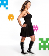 AJ Lee / Nerdy Is Beautiful - *NEW* WWE.com Photo Session [HQ x 20]
