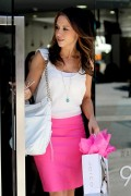 Lacey Chabert - at Gavert Atelier salon in Beverly Hills 06/28/12