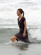 AnnaLynne McCord - at a beach in Los Angeles 07/16/12